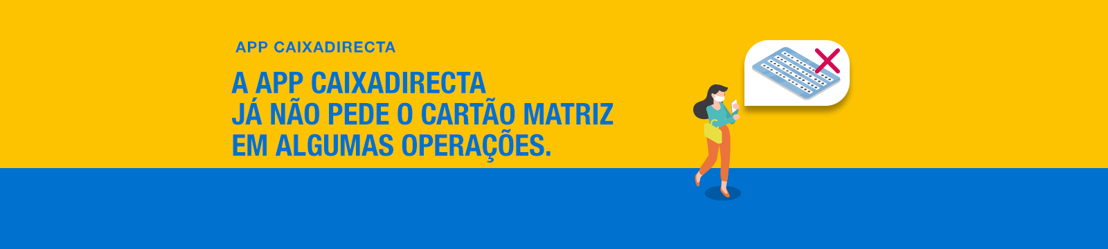Dispensa do cartão matriz