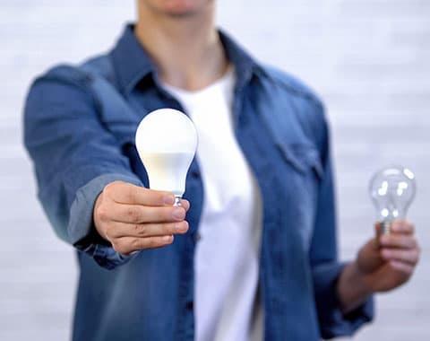 economizar nas despesas da luz