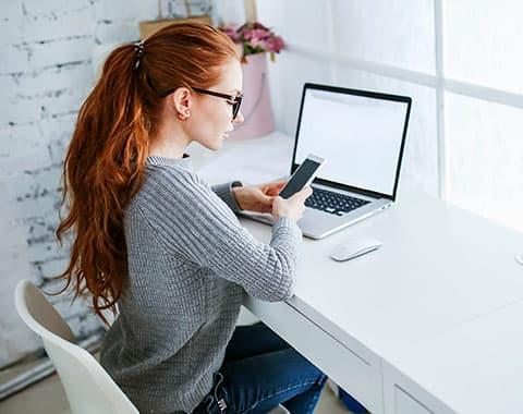 Telemóvel ou desktop